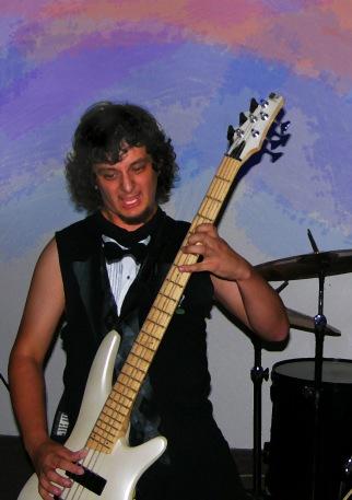 Bass guitarist for Socials Kills
