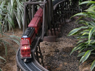 Toy train Gaylord Texan 120