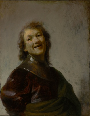 Self Portrait by Rembrandt van Rijn
